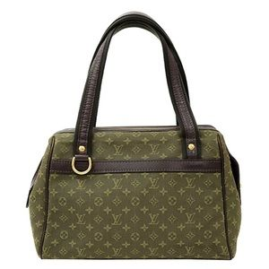 Louis Vuitton Olive Green Josephine Bag